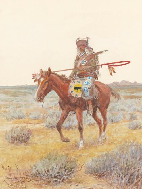 Art Prints of Medicine Man by Olaf Carl Seltzer