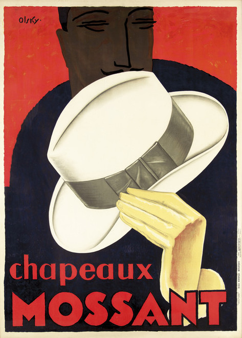 Art Prints of Chapeaux Mossant by Olsky