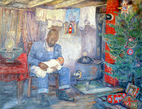 Art Prints of Christmas 1939 by Palmer Hayden
