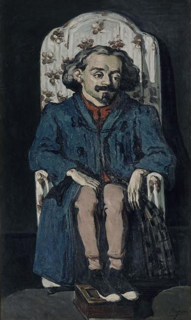 Art Prints of Portrait of Achille Emperaire by Paul Cezanne