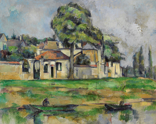 Art Prints of Banks of the Marne by Paul Cezanne