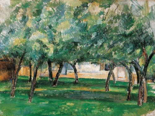 Art Prints of Farm in Normandy by Paul Cezanne