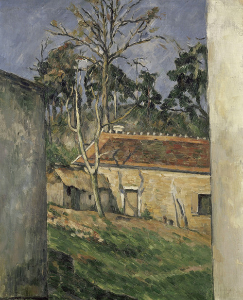 Art Prints of Farmyard by Paul Cezanne