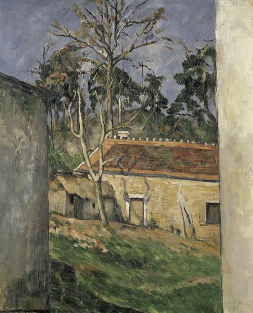 Art Prints of Farmyard by Paul Cezanne