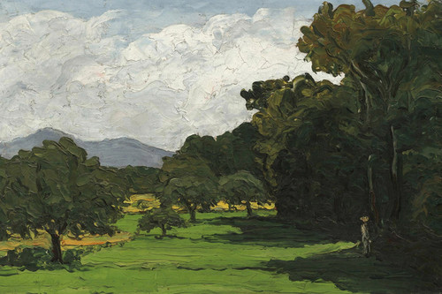 Art Prints of Landscape Around Aix in Provence by Paul Cezanne