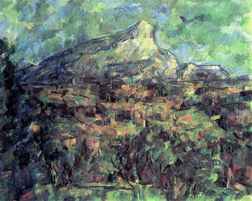 Art Prints of Landscape at Aix by Paul Cezanne