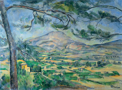 Art Prints of Mont Saint Victoire by Paul Cezanne