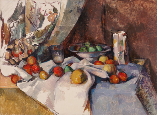 Art Prints of Nature Morte or Still Life by Paul Cezanne