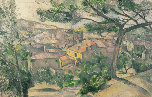 Art Prints of Morning View of L'Estaque against the Sunlight by Paul Cezanne