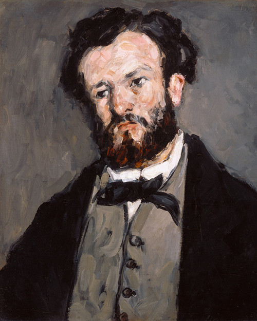 Art Prints of Portrait of Poet Anthony Valabregue by Paul Cezanne