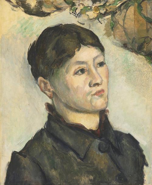 Art Prints of Portrait of Madame Cezanne 3 by Paul Cezanne