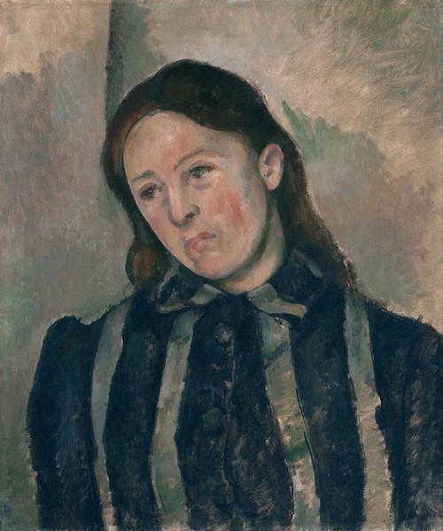 Art Prints of Portrait of Madame Cezanne 2 by Paul Cezanne