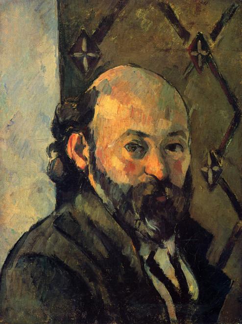 Art Prints of Self Portrait 1880 by Paul Cezanne