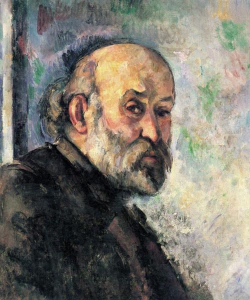 Art Prints of Self Portrait 1895 by Paul Cezanne