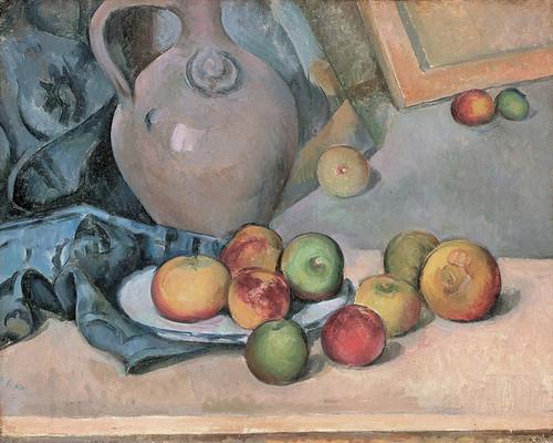 Art Prints of Stoneware Pitcher by Paul Cezanne