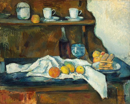 Art Prints of The Buffet by Paul Cezanne