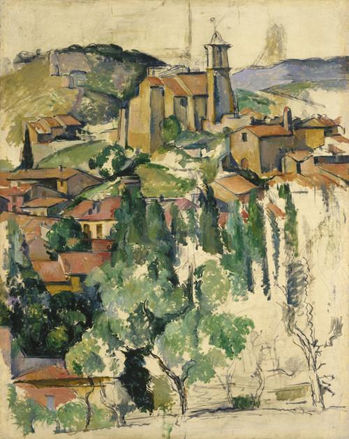 Art Prints of The Village of Gardanne by Paul Cezanne