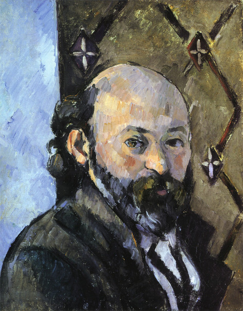 Art Prints of Portrait of Paul Cezanne by Paul Cezanne