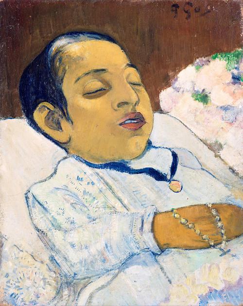 Art Prints of Atiti by Paul Gauguin