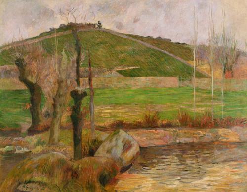 Art Prints of Landscape near Pont Aven by Paul Gauguin