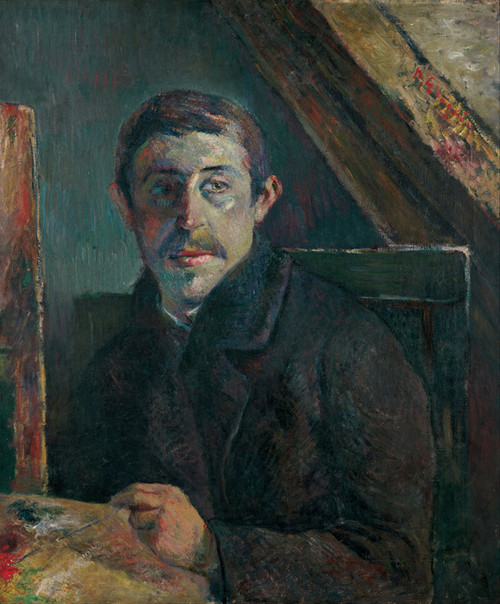 Art Prints of Self Portrait by Paul Gauguin