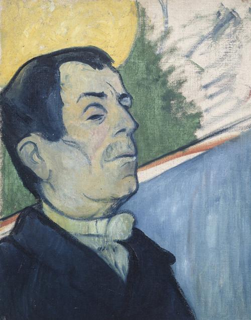 Art Prints of Portrait of a Man by Paul Gauguin