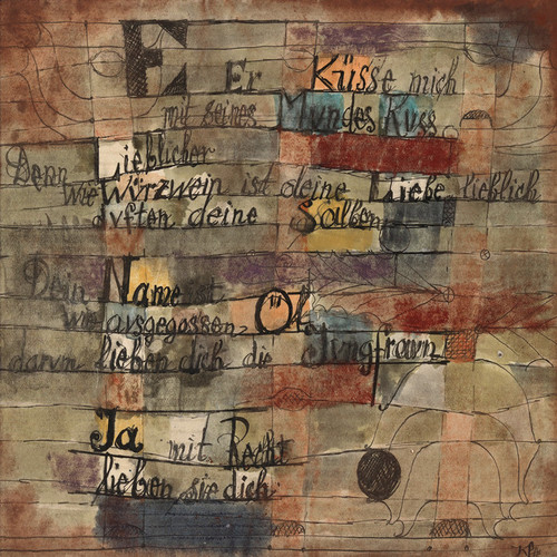 Art Prints of The Song of Songs, Version II by Paul Klee