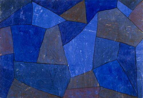 Art Prints of Rocks at Night by Paul Klee