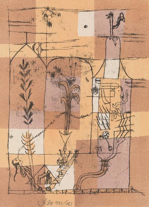 Art Prints of Hoffmannesque Scene by Paul Klee