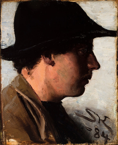 Art Prints of Oscar Bjorck by Peder Severin Kroyer