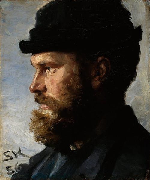 Art Prints of Michael Ancher by Peder Severin Kroyer