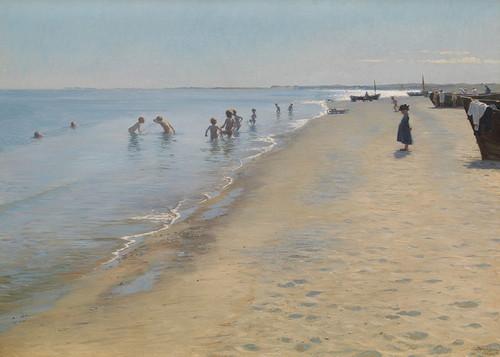 Art Prints of Summer Day by Peder Severin Kroyer