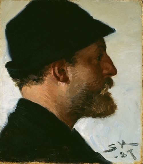 Art Prints of Viggo Johansen by Peder Severin Kroyer