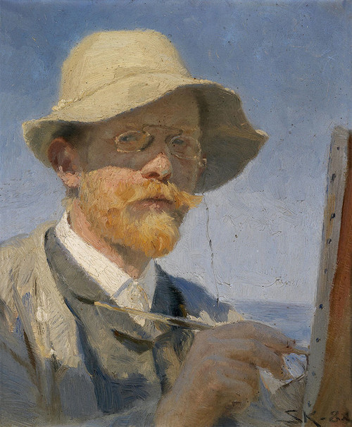 Art Prints of Self Portrait by Peder Severin Kroyer