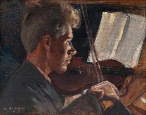 Art Prints of Fiddler by Pekka Halonen
