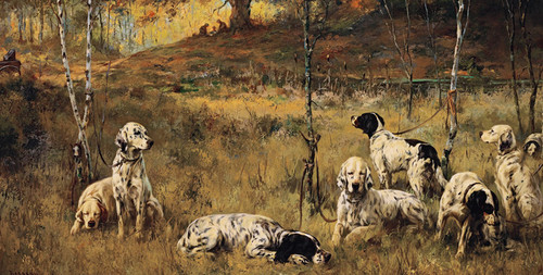 Art Prints of The Lunch Hour by Percival Leonard Rosseau
