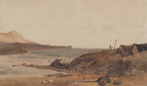 Art Prints of Coast Scene by Peter De Wint