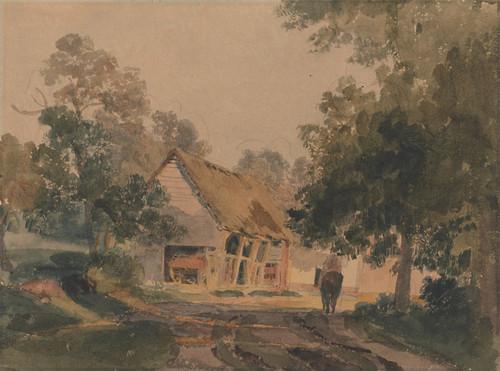 Art Prints of Near Matlock by Peter De Wint