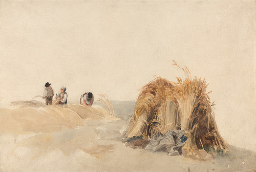 Art Prints of The Cornfield by Peter De Wint