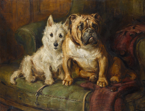 Art Prints of Best Friends by Philip Eustace Stretton