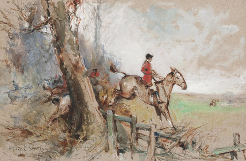 Art Prints of Over the Fence by Philip Eustace Stretton