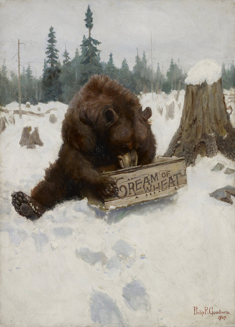 Art Prints of A Bear Chance by Philip Goodwin
