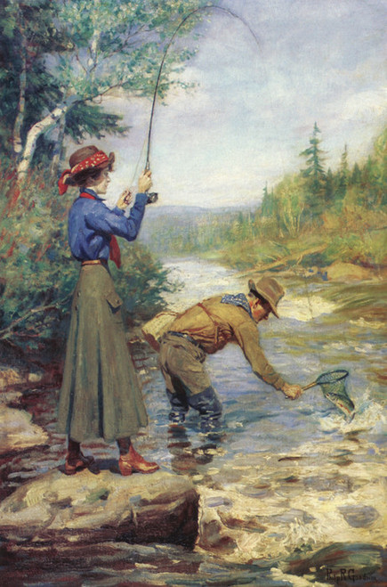 Art Prints of Lucky Catch by Philip Goodwin