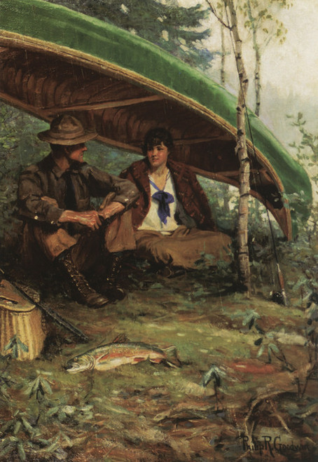 Art Prints of Waiting out the Storm by Philip Goodwin