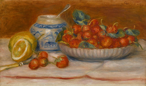 Art Prints of Fraises by Pierre-Auguste Renoir