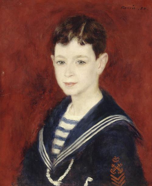 Art Prints of Fernand Halphen as a Boy by Pierre-Auguste Renoir