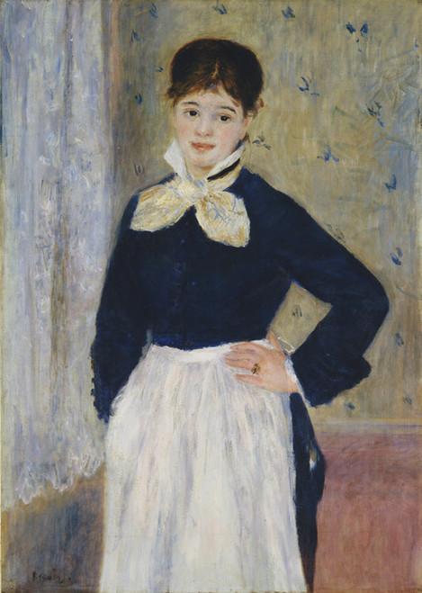 Art Prints of A Waitress at Duvals Restaurant by Pierre-Auguste Renoir