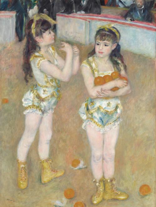 Art Prints of Acrobats at the Cirque Fernando by Pierre-Auguste Renoir