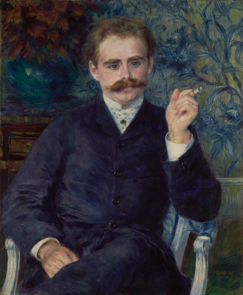 Art Prints of Albert Cahen D'Anvers by Pierre-Auguste Renoir