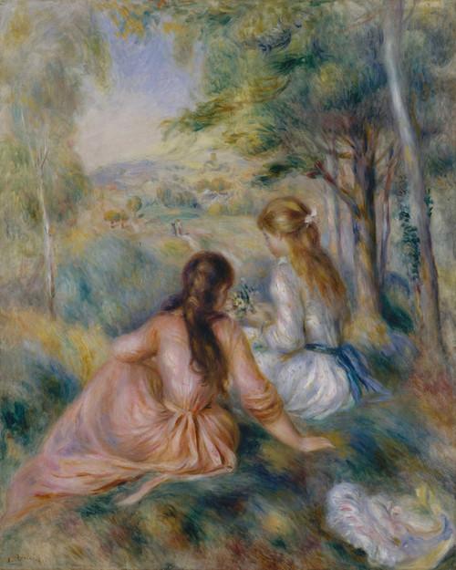 Art Prints of In the Meadow by Pierre-Auguste Renoir